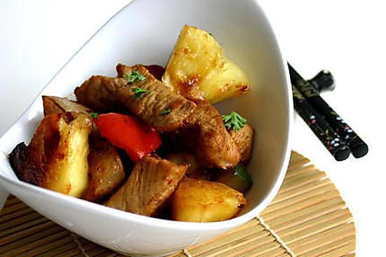 recipe Sweet and sour pineapple pork
