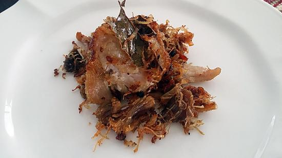 recipe Adobong puti (adobo flakes)