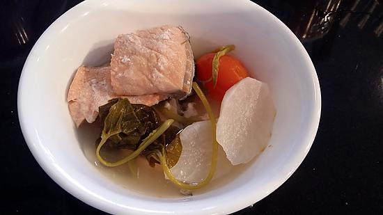 Recipe Of Sinigang Na Salmon Sa Calamansi