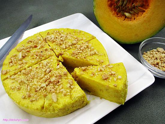 recipe MAJA KALABASA (SQUASH PUDDING)