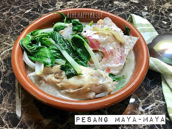 recipe Pesang Maya-Maya