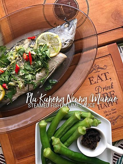 recipe Pla Kapong