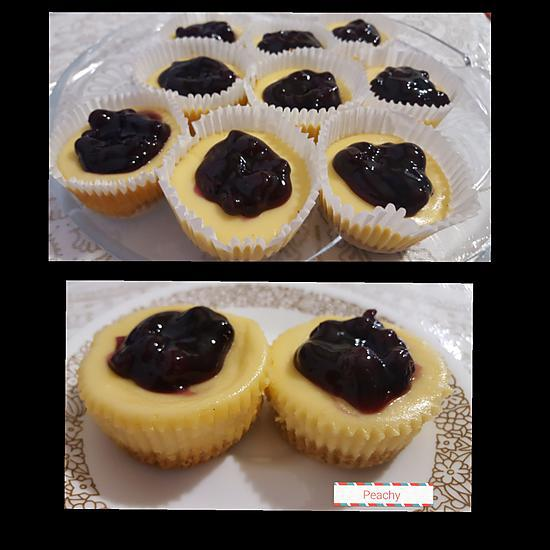 recipe Blueberry cheese cupcakes