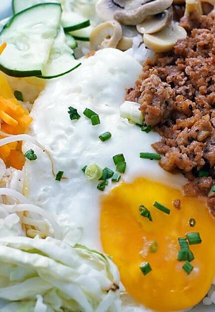 recipe Pinoy Bibimpap
