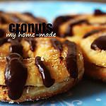 recipe Cronuts Nutella