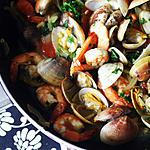 recipe Clams in white wine