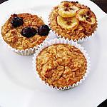 recipe Banana-apple oatmeal muffins