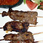 recipe Beef and Chicken Satay