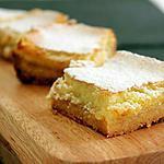 recipe Lemon squares