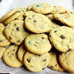recipe candy coated chocolate and chocolate chip cookies
