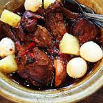 recipe Chicken Adobo in Pineapple
