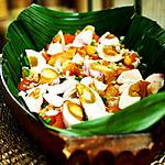 recipe Fern Salad with Salted Egg