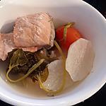 recipe Sinigang na Salmon sa Calamansi