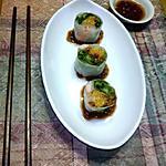 recipe Chicken/ Shrimp and Veggie Spring Rolls