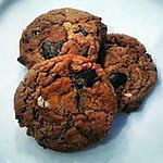 recipe Peanut Butter cookies with chunky chocolate