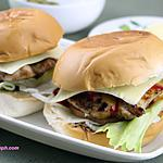 recipe Grilled Chicken Burger