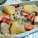 recipe Creamy Pinanyahang Manok